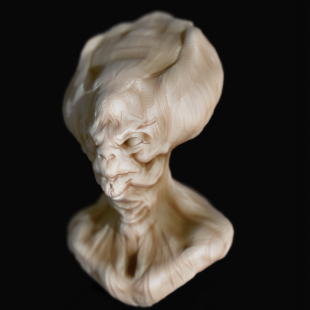 alien-sculpt